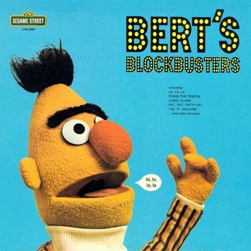 Muppet Music (superseventies: Bert's Blockbusters!...) #sesame #steet #cover #vinyl #music
