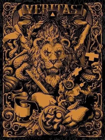 veritas.jpg (800×1060) #poster #lion #art