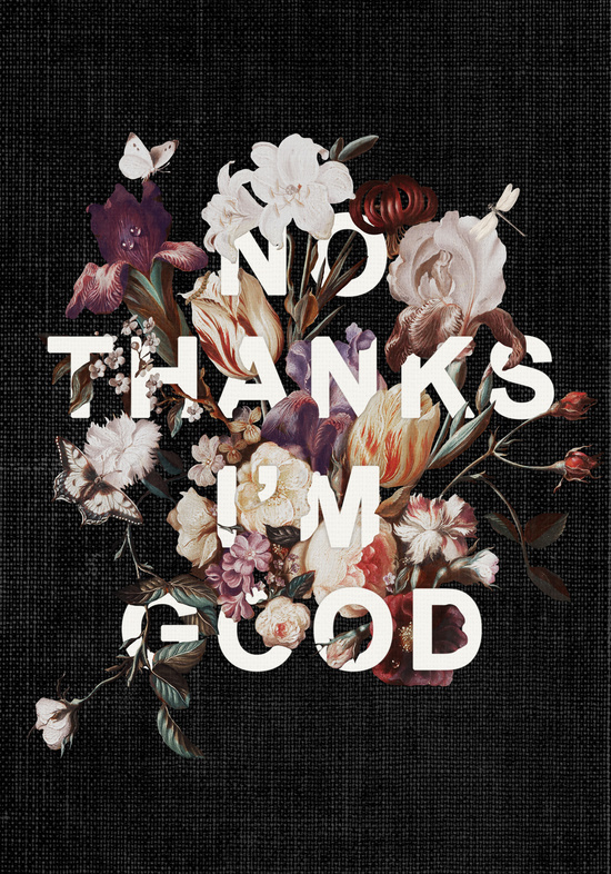 No Thanks I'm Good by Heather Landis