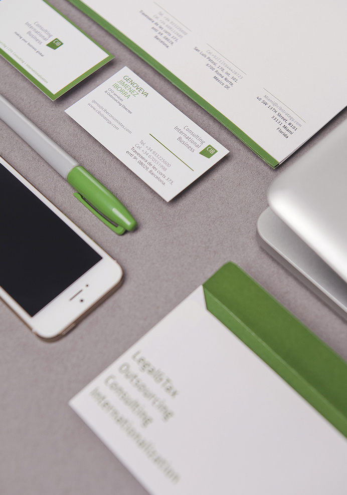 Branding design for CIB Spain Investing Company- The Branding People