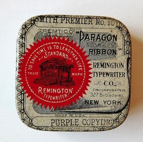FFFFOUND! | Vintage Packaging: TypewriterTins - TheDieline.com - Package Design Blog #packaging #vintage