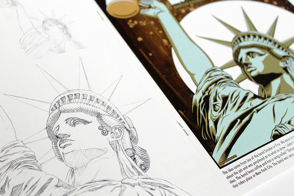 Brian Ewing BLOG | NEW BOOK COLLECTING SELECTED WORKS FROM 2010 2012 #statue #liberty