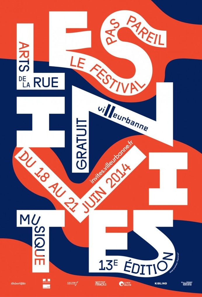 The french performing arts festival Les Invites. Villeurbanne,