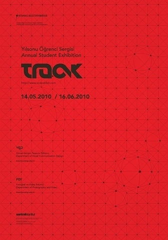 FFFFOUND! | Track 09 Exhibit Posters on the Behance Network #matrix #type #poster #logo