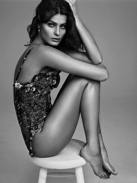Isabeli Fontana for 25 Magazine #fashion #model #photography #girl
