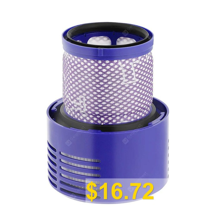 For #Dyson #V10 #Handheld #Vacuum #Cleaner #Accessories #Rear #Filter #- #DODGER #BLUE