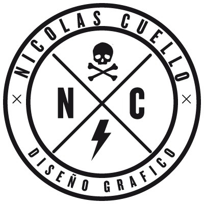 NCDG #design #graphic #dg #skulls #logo