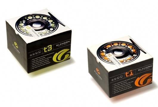 Elkhorn Flyrods Branding & Identity - VOLTAGE : Digital Advertising & Design #packaging #reel #fly #fishing