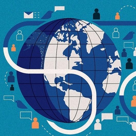 Google Reader (152) #illustration #globe