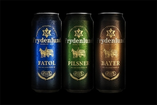 Frydenlund on the Behance Network #beer #label
