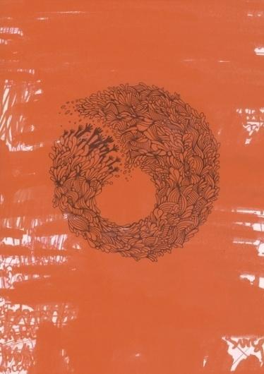 Home Orange Art Print by The Babybirds | Society6 #abstract #artwork #illustration #art #organic