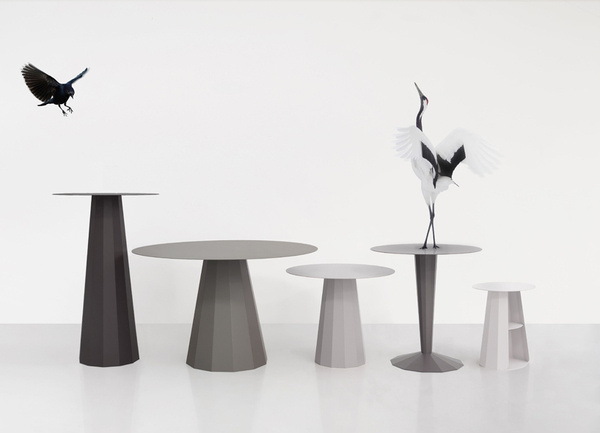 constance guisset releases metal ankara table collection #table