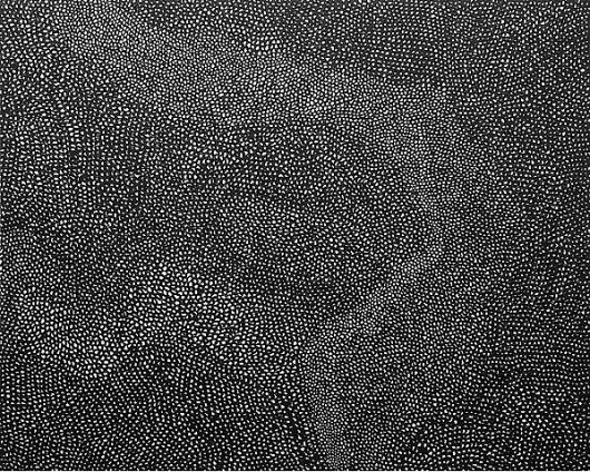 Yayoi Kusama, Steven Parrino, Anselm Reyle - March 13 - April 19, 2008 - Gagosian Gallery #yayoi #kusama #black #2007 #art