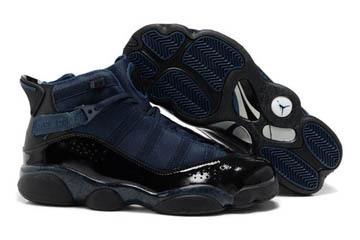 Nike Jordan Winterized 6 Six Rings BlueBlack