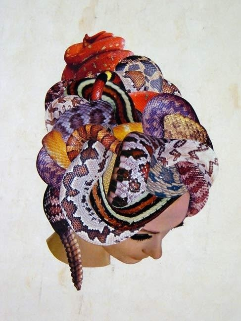 Javier Pinon #snakes #collage