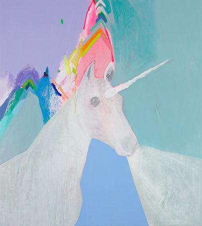 Unicorns #painting #color #unicorn #art