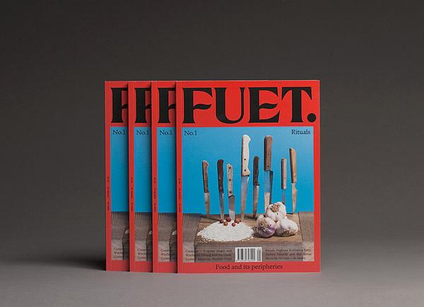The book design #food #magazine