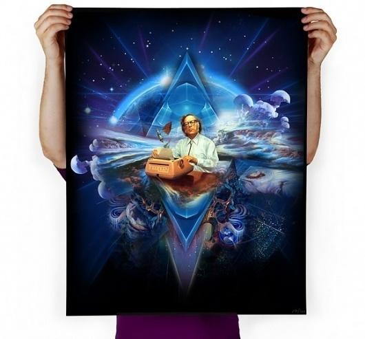 Imaginary Foundation Sci-Fi Art Print - Art - Store #asimov #print #fi #sci #isaac #imaginary #art #foundation