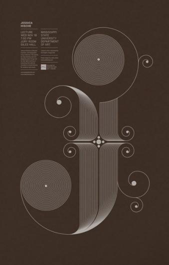 Jude Landry #typographic #line #color #one