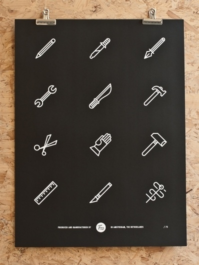 Tim Boelaars — Tools #icon #design #icons #texture #illustration #posters #poster #paper