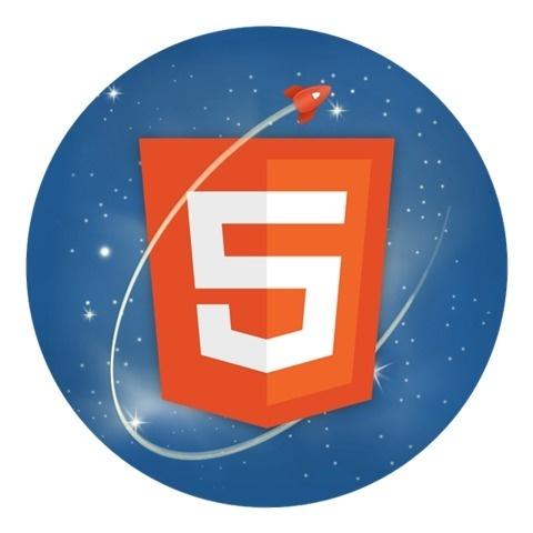 FFFFOUND! | Mashing up the HTML5 logo | Captain's Blog | Rawkes #logo #illustration #html5