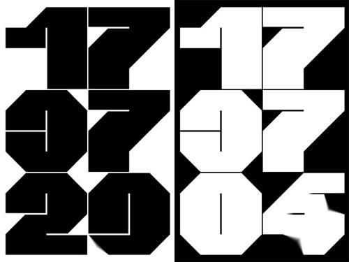 crouwelclock.jpg 500×375 pixels #creative #application #iphone #crouwel #app #wim #clock #typography