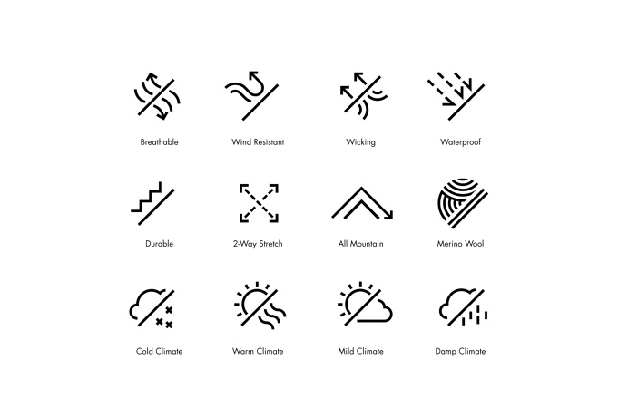 Manual #icon #icondesign #iconset #pictogram #picto #icons #weather #cloud #rain #sun #wind #storm #snow #line #outline
