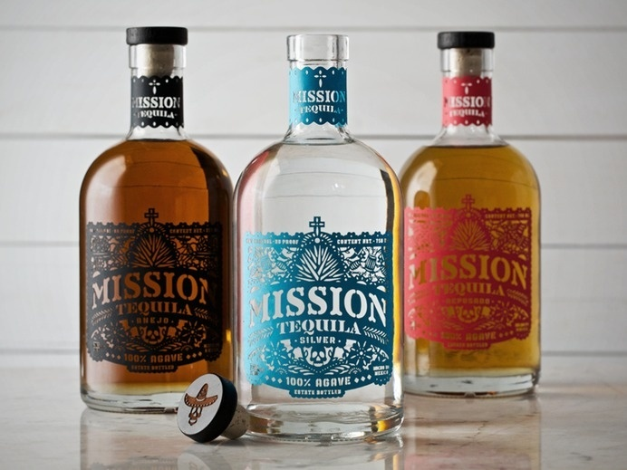 Best Packaging Mission Tequila Bottle images on Designspiration