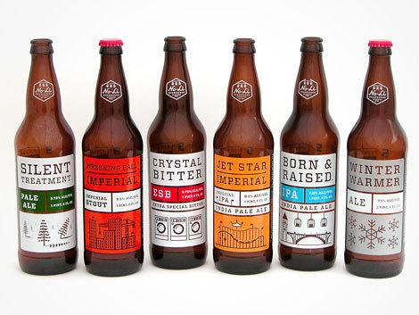 NoLi Imperial Series #packaging #beer #label #bottle