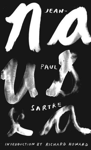 The Book Cover Archive: Nausea, design by Rodrigo Corral #white #book #black #cover #and