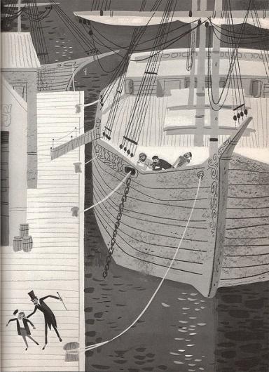Drawn #illustration #ship #greyscale