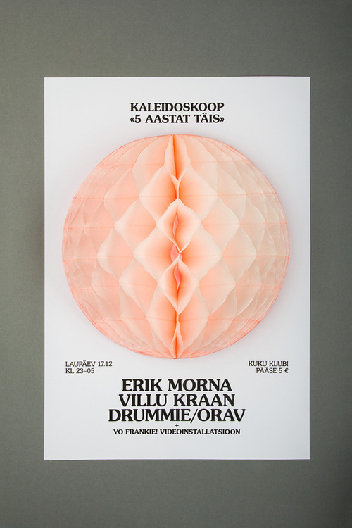 designeverywhere:Kaleidoskoop #3d #poster #dimensional
