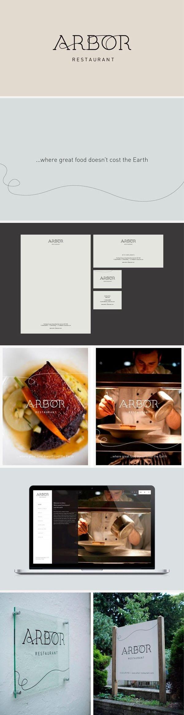 identity / Arbor restaurant #catering