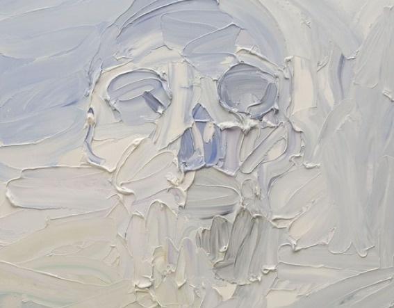 ben quilty #skull #painting #ben quilty