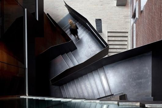 piero lissoni: conservatorium hotel, amsterdam #stairs #architecture