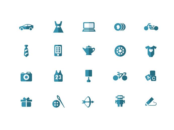 eBay Iconography #icon #picto #symbol #pictogram