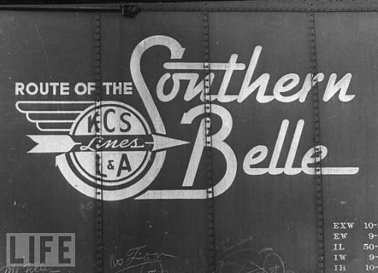 Southern Belle boxcar logo #logo #boxcar