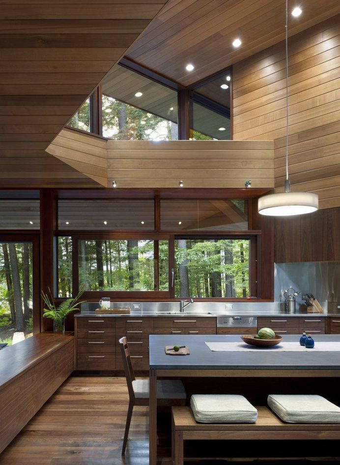 Lakeside Camping in New Hampshire Designed For Three Generations 7