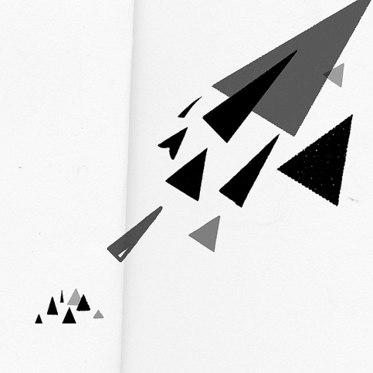 Collage / Attack | Flickr - Photo Sharing! #abstract #letters #white #black