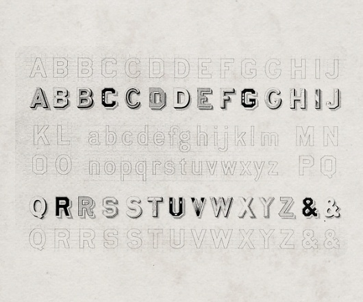 All sizes | 19th century font | Flickr - Photo Sharing! #19th #sans #geometric #typeface #century #typography