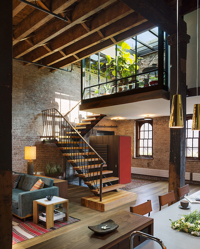 Amazing Loft with Rooftop in Manhattan -6 #interior #design #decor #deco #decoration