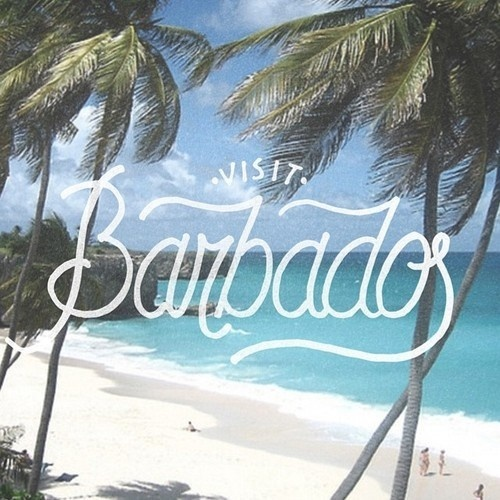 Visit Barbados Lettering #calligraphy #lettering #script #barbados #handlettering #travel