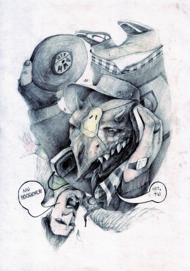 Drawings by Paul Moas   123 Inspiration #moas #paul