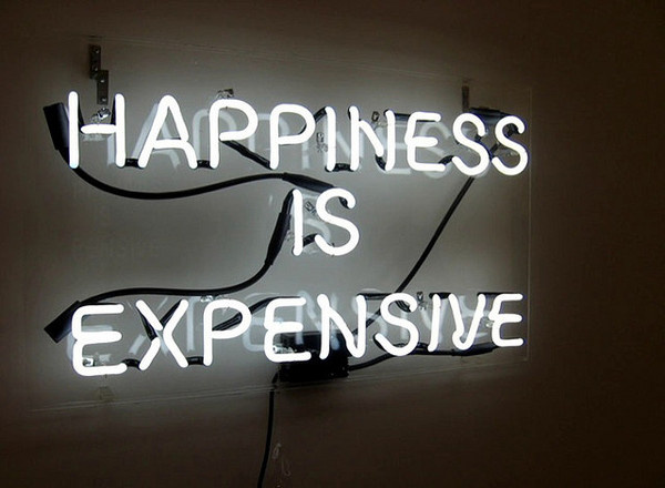 alejandro diaz #lettering #typography #happiness #signage #neon