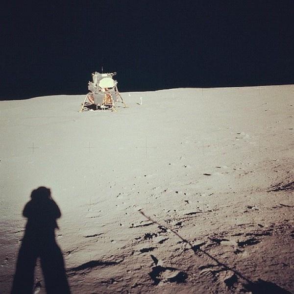 NASA: Farewell, Neil Armstrong (1930-2012) #nasa #shadow #space #moon
