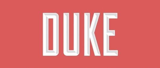 Lost Type Co-op | Duke #retro #typography
