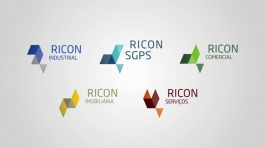 Ricon Group — Branding on the Behance Network #identity