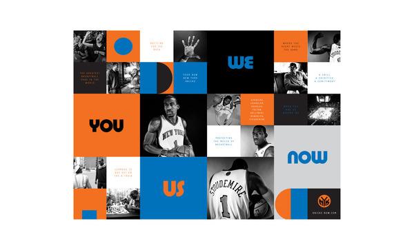 New York Knicks – Collins #design #advertising #collins #sports #knicks