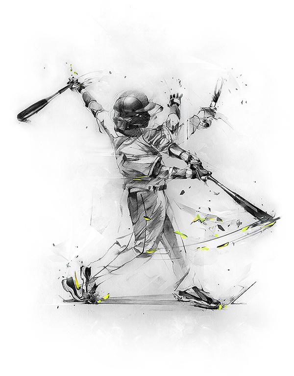 NIKE MLB on Behance #major #nike #league #baseball