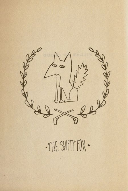 Sara Seal - The Shifty Fox #fox #draw #hand #illustration #animal
